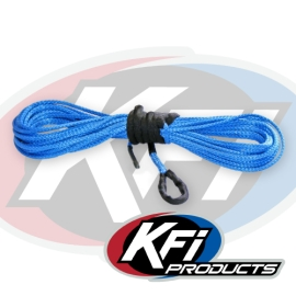 "15/64"" Synthetic 38' ATV Winch Cable (Blue)"