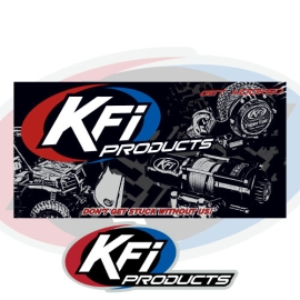 KFI 4'x2' Banner