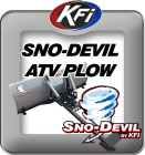 Sno-Devil ATV Plow