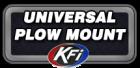 Universal ATV Plow Mount