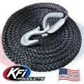 #101121-R UTV TigerTail 15' Rope (Black)