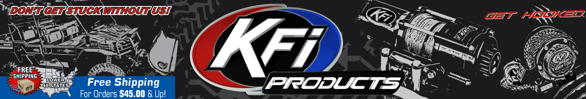 3000 LBS KFI ATV Winch - KFI ATV Winch, Mounts and Accessories