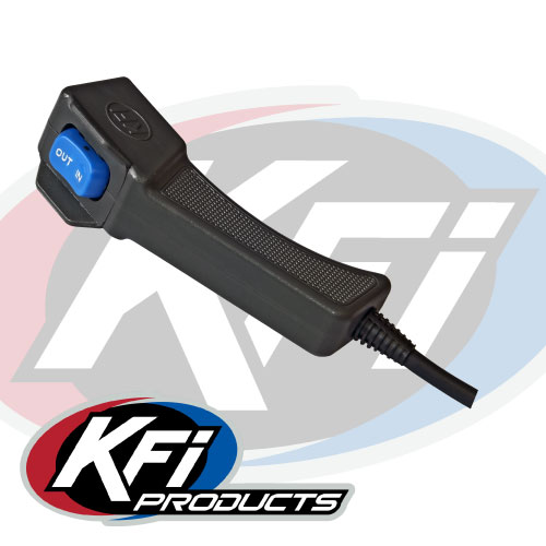 4500lbs kfi utv winch wide kfi atv winch mounts and accessories also included is a handheld 14 corded remote for those situations when you need to control your winch from a distance or dismounted from your machine