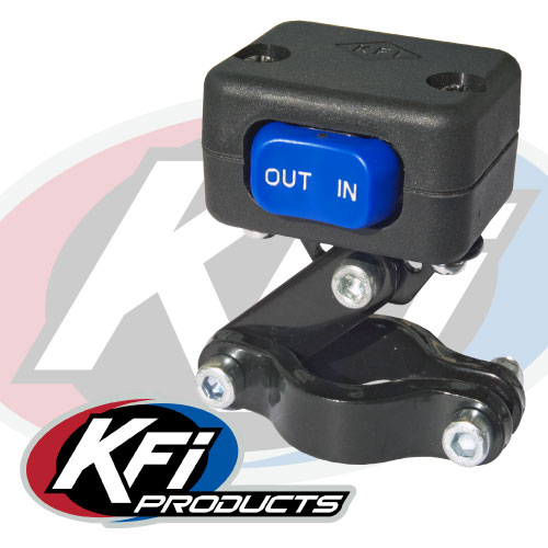 3000 lbs kfi atv winch kfi atv winch mounts and accessories take control of your winch the included mini rocker switch it comes an adjustable bracket to mount on to your atv s handlebars