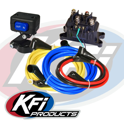 universal 12v wiring kit kfi atv winch mounts and accessories universal 12v wiring kit