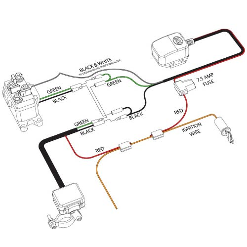ATV WRC Wiring 01 winch wireless remote control kfi atv winch, mounts and accessories winch remote control wiring diagram at webbmarketing.co