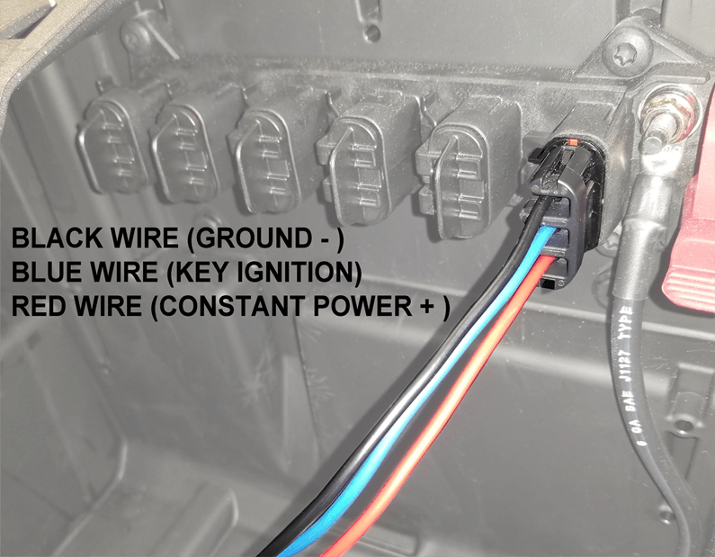 Kfi Pulse Wiring Winch Harness 101505   Polaris Ranger Xp