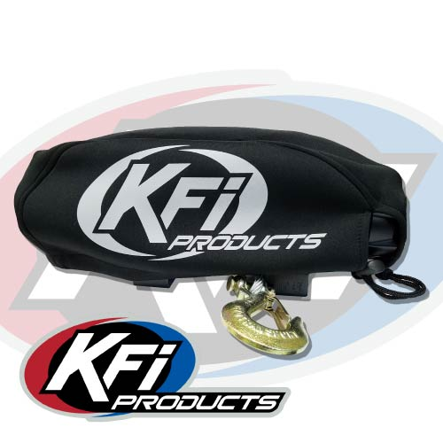 KFI WC-LG Winch Cover for U4500W and SE45W WIDE Winches Large