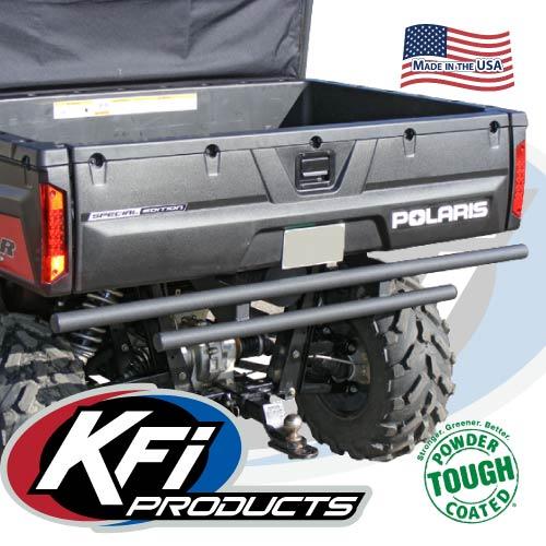 KFI Double Tube Rear Bumper Black Polaris Ranger Full Size 2004-2014 See Fitment
