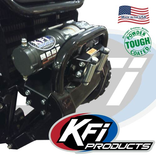 Honda 500 Atv >> Honda Pioneer 500 Winch Mount - KFI ATV Winch, Mounts and ...