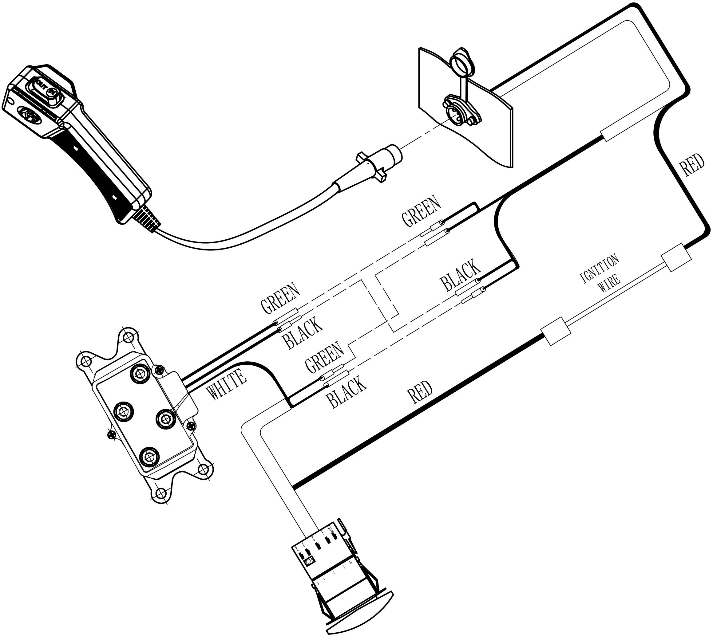 KFI_Carling_Switch_Wring_Diagram kfi winch wiring diagram atv winch solenoid wiring diagram wiring diagram for atv winch contactor at mifinder.co