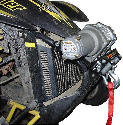 Polaris Scrambler Trail Blazer Sport Winch Mount KFI ATV