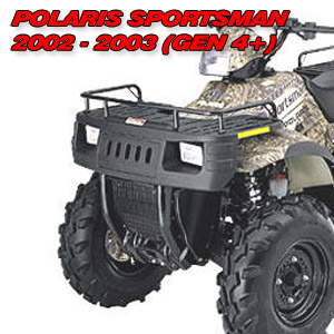 Warn ATV Vantage 2000 Winch wMount Polaris Sportsman 700 2004