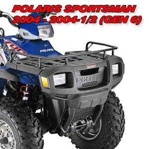 Sportsman GEN4+ and GEN6 Winch Mount - KFI ATV Winch, Mounts