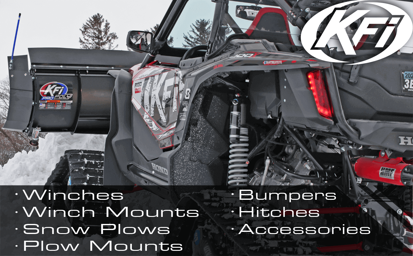 X2 Winch Mounts for Polaris Sportsman KFI Products 100440
