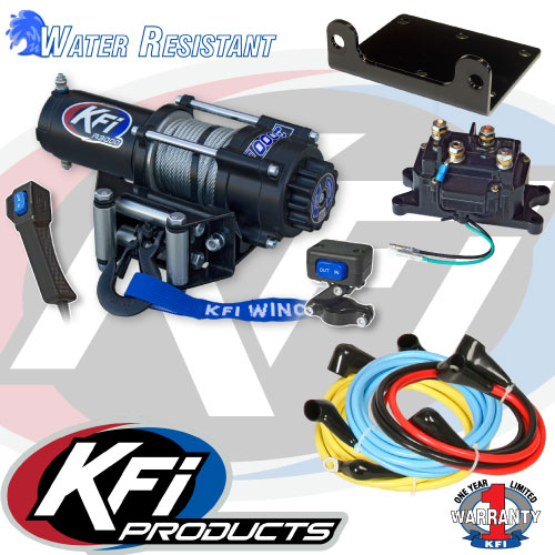 3000 lbs kfi atv winch kfi atv winch mounts and accessories 3000lbs kfi atv winch