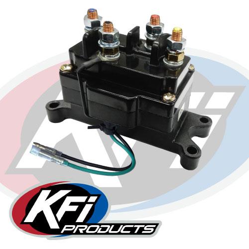 Assault Winch Contactor Kfi Atv Mounts And Accessories: Warn A2000 Atv Winch Wiring Diagram At Imakadima.org