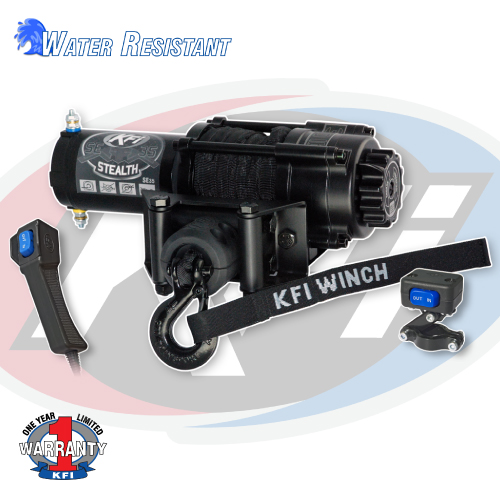se35 stealth winch kfi atv winch mounts and accessories rh kfiproducts com
