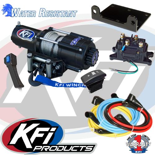KFI UTV Winch Wire Extension Kit Crew UTV-WEK