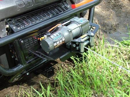 2001 2009 UTV 675 Polaris Ranger Multi Mount Winch Kit KFI