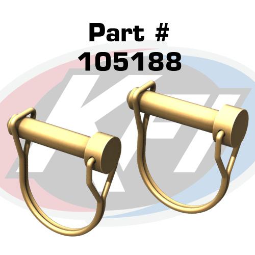 KFI REPLACEMENT PLOW PINS P800304-R