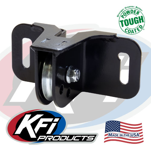 "KFI 105465 Snow Plow Winch Fairlead Pulley for WIDE 6/"" Bolt Pattern NEW"
