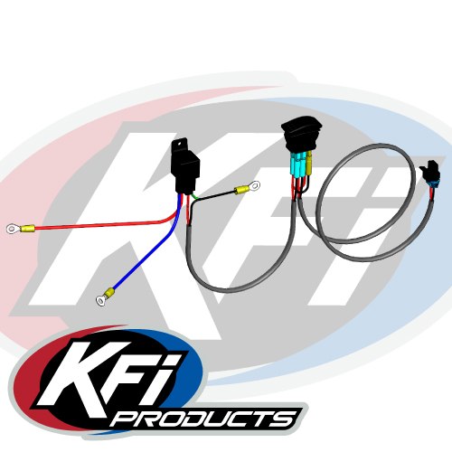 wiring harness kit for atv kfi plow actuator kit kfi atv winch  mounts and accessories  kfi plow actuator kit kfi atv winch