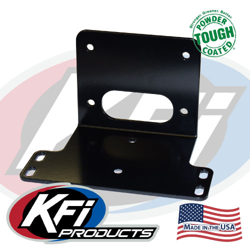 kawasaki mule 600/610 winch mount - kfi atv winch, mounts and