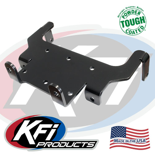 1998 2001 yamaha grizzly 600 winch mount kfi atv winch mounts and rh kfiproducts com Yamaha Grizzly 600 Carb Line Diagram 2000 Yamaha Grizzly 600 Wiring Diagram