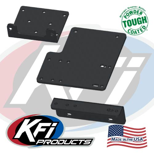 kawasaki mule 4000 series winch mount - kfi atv winch, mounts and