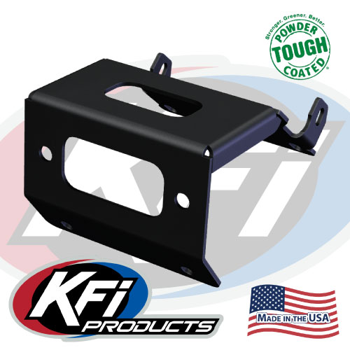 new honda rancher foreman rubicon winch mount kfi atv winch 101175 honda rancher foreman rubicon winch mount