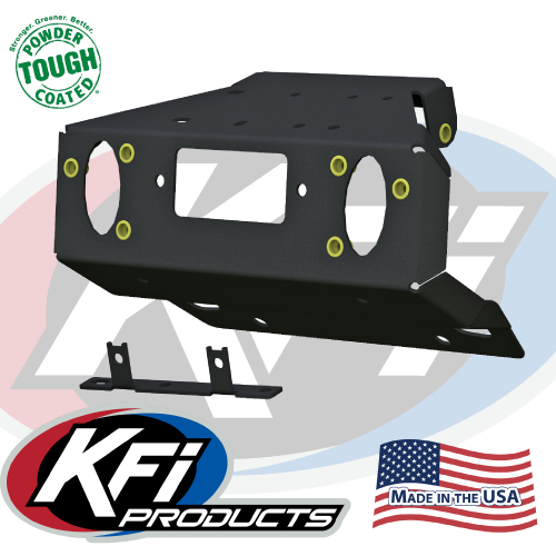 Can-Am Maverick Tail Winch Mount - KFI ATV Winch, Mounts and