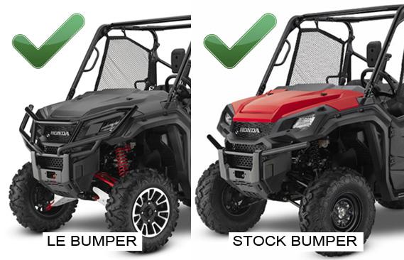 Honda Pioneer 1000 Winch Mount - KFI ATV Winch, Mounts and Accessories